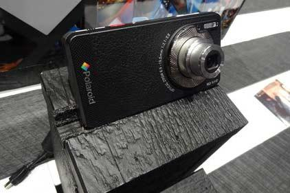 Polaroid will launch its new Android-powered Smart Camera in April. The device sports a three times optical zoom and snaps 16 MB images.