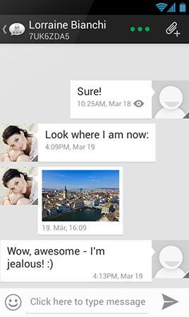 Threema mobile messaging service