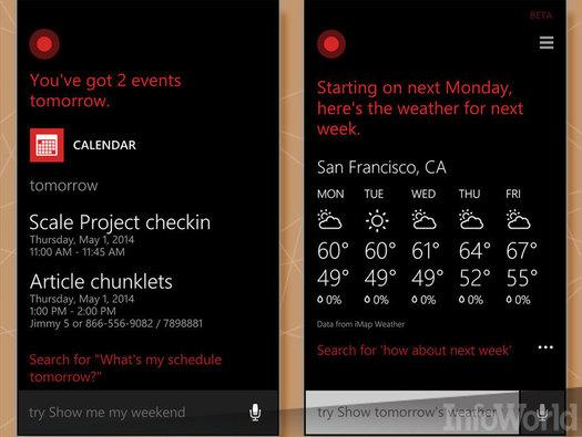 In pictures 6 reasons youll love windows phone 81 slideshow cortana voice assistant in 2011 apples siri was the talk of the town an electronic assistant that could interpret free form voice queries and respond sciox Choice Image
