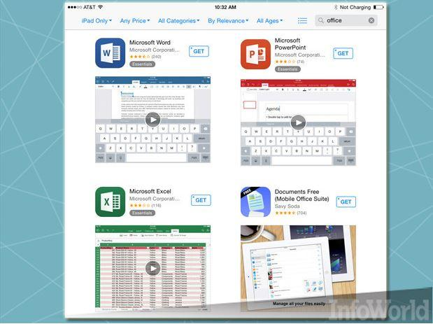 In Pictures: Secrets of Office for iPad masters - Slideshow