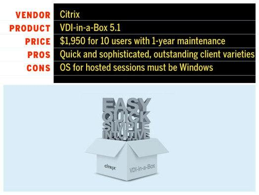 In Pictures: Citrix wins VDI faceoff - Slideshow - Computerworld