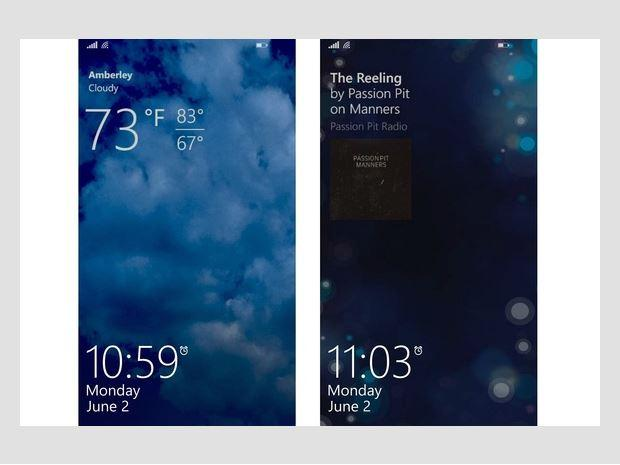 Lock screen apps Windows Phone users don't have to see the same old image  every time they turn on their handsets. Instead, they can choose an app to  show ...