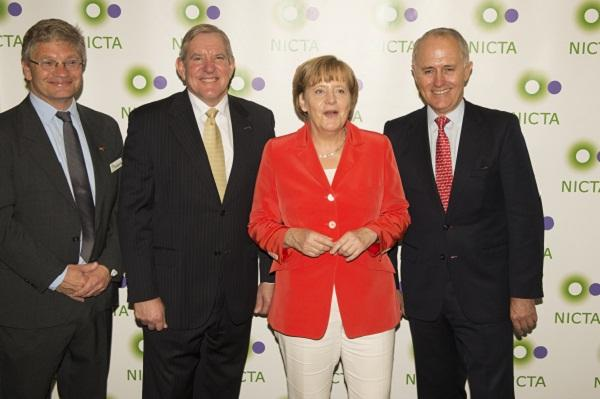 In pictures: Chancellor Angela Merkel visits NICTA Sydney