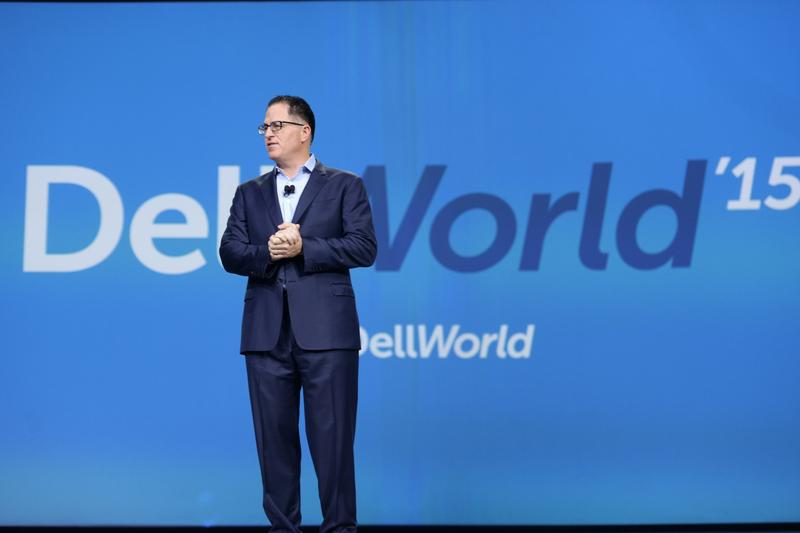 IN PICTURES: Michael Dell kicks off Dell World 2015 - Day One
