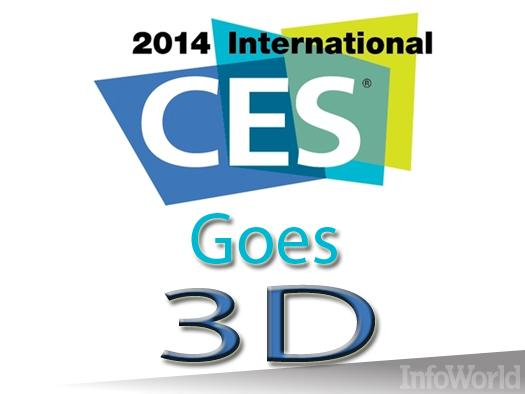 In pictures: The coolest 3D printers of CES 2014