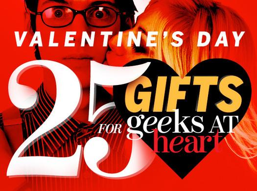 In Pictures: 25 Valentine's Day gifts for geeks at heart