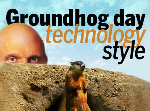 In Pictures: Groundhog day technology style