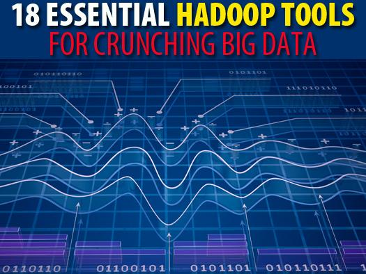 In Pictures: 18 essential Hadoop tools for crunching big data