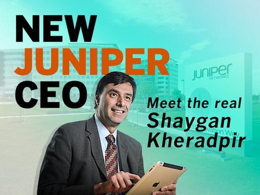 In Pictures: New Juniper CEO -  Meet the real Shaygan Kheradpir