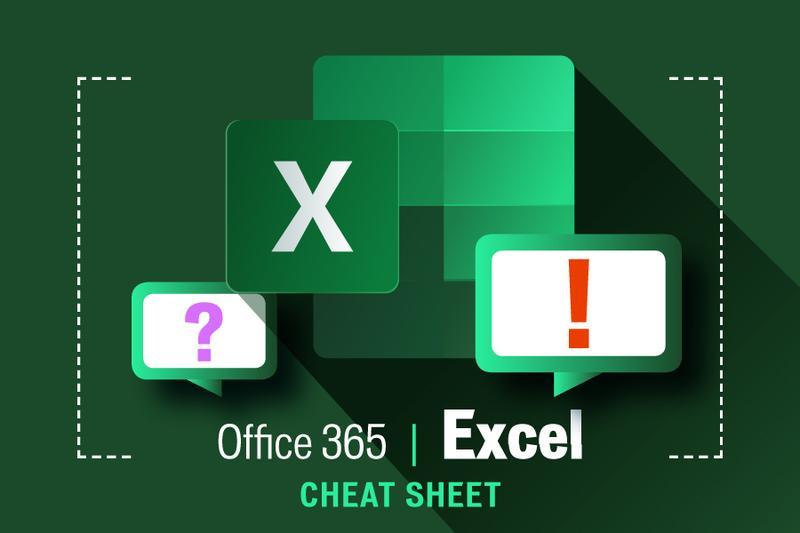 Excel for Office 365 cheat sheet - Computerworld
