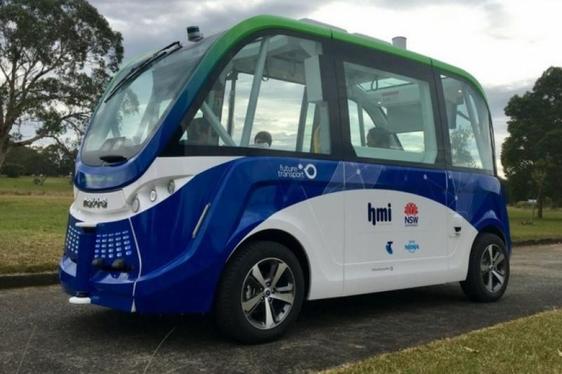 NSW Driverless bus