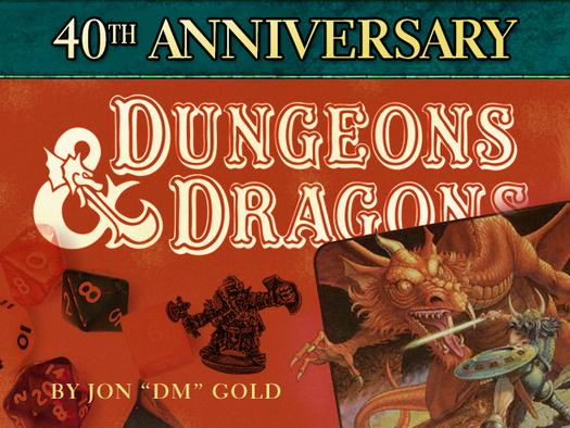 In Pictures: Dungeons & Dragons at 40 - A history
