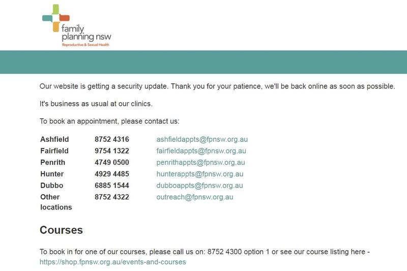 Family planning nsw details ransomware attack computerworld wajeb