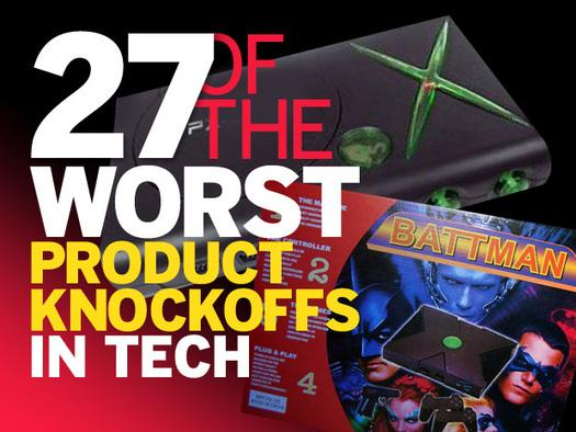 In Pictures: 27 of the worst product knockoffs in tech