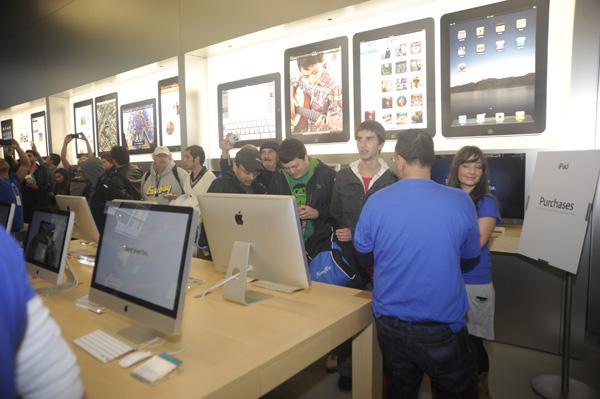 iPad launch in Sydney
