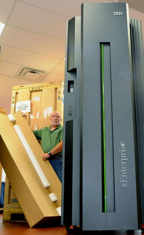 In Pictures: IBM's new System z mainframe