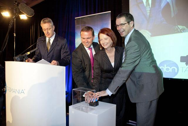 NBN Tasmania launch