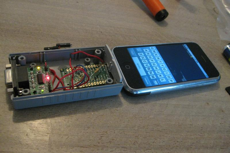 The great iPhone serial port hack