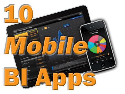 In Pictures: 10 mobile business intelligence apps for on-the-go analysis