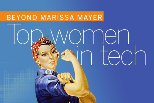In Pictures: Beyond Marissa Mayer -Top women in tech