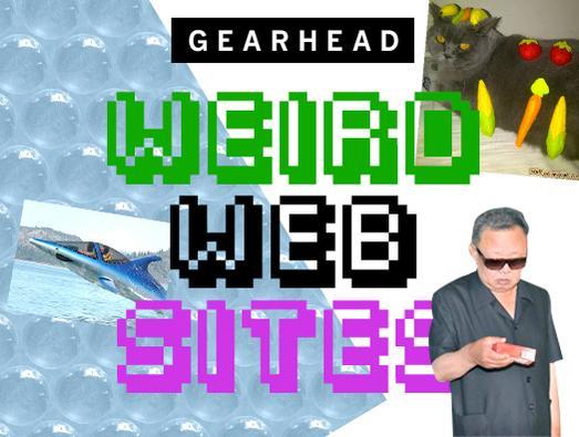In Pictures: Gearhead. Weird Websites