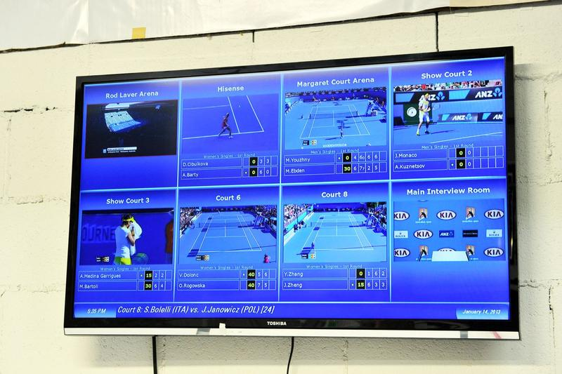 The behind-the-scenes tech of the Australian Open