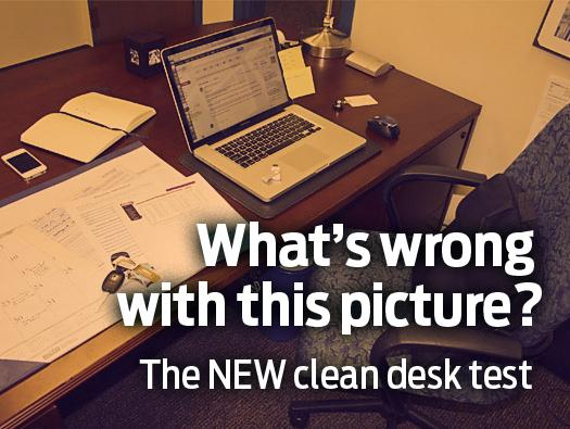 In Pictures: Security mistakes right at your workspace