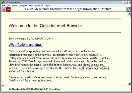 In Pictures: B is for browser - a homage to 12 Web greats
