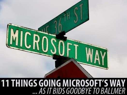 In Pictures: 11 things Microsoft is actually doing right