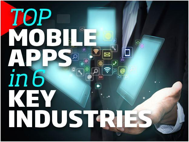 In Pictures: Most popular mobile apps in 6 key industries