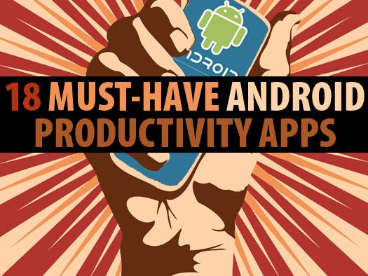In Pictures: 18 must-have Android productivity apps
