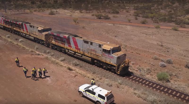 Rio Tinto's 'world's biggest robot' makes first driverless delivery