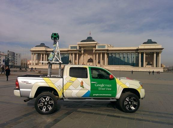 In Pictures: Camels, Sleds, and Fishing Boats - 7 Wacky Google Street View Vehicles