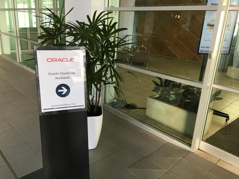 IN PICTURES: Oracle pounds Public Cloud chest at Auckland Cloud Day