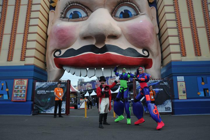 IN PICTURES: 2014 VMware vForum, Luna Park, Sydney (+29 photos)