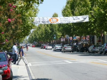 Castro Street in Mountain View, California