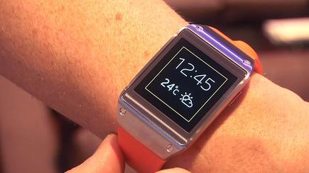 Samsung's Galaxy Gear smartwatch