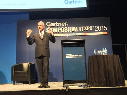 David Furlonger at the 2015 Gartner Symposium/ITxpo in the Gold Coast