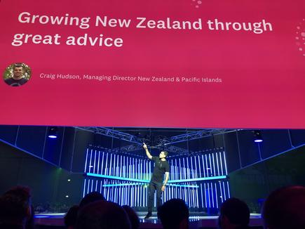 Craig Hudson at Xerocon 2018 in Brisbane