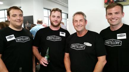 TechOps team members Craig Robertson, Douglas Trower, Steve Denby