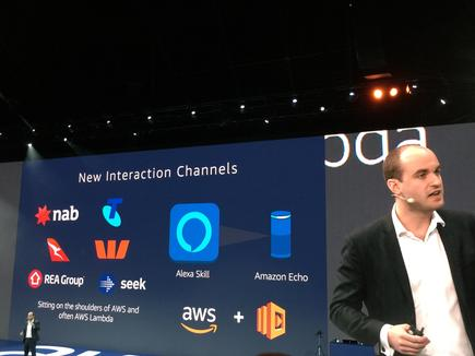 "Olivier Klein at the AWS Summit in Sydney: ""Cloud is normal, machine learning is the new normal."""