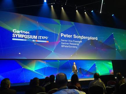 Peter Sondergaard: If the most important thing you offer is data you are in trouble,