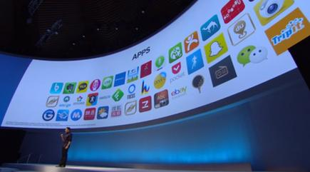 The Gear will run a variety of apps, including some with augmented reality.