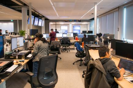 Workday's global support centre in Auckland (Photo by Badger Hales)