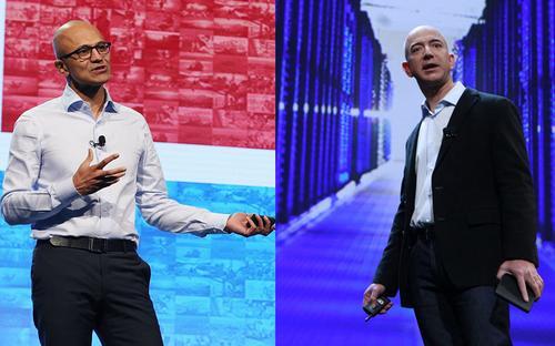 Amazon's war on Microsoft's $10B Pentagon cloud deal heats up