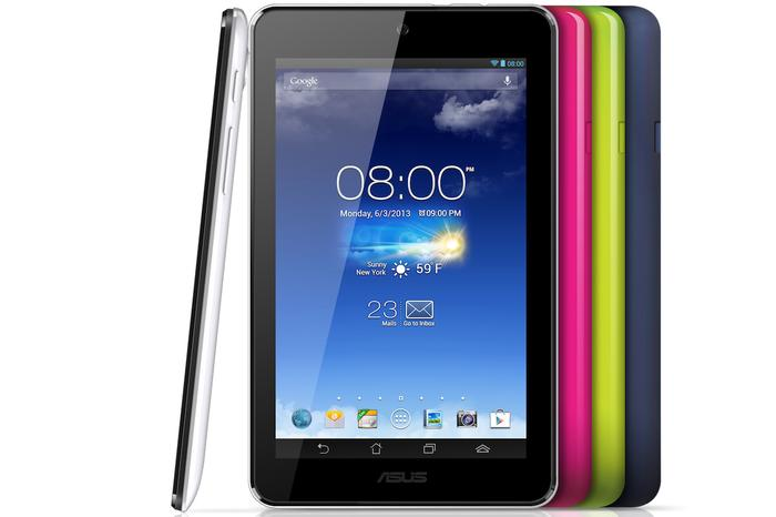 The ASUS Memo Pad HD 7 Android tablet.