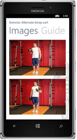 A look at Gym PocketGuide. Credit: Designer Technology
