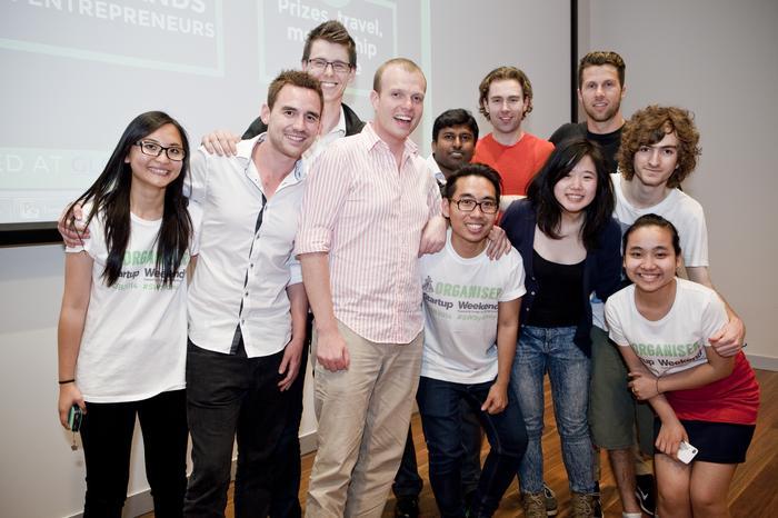 Sound Ninja, a music startup, won at Sydney Startup Weekend in November 2014.