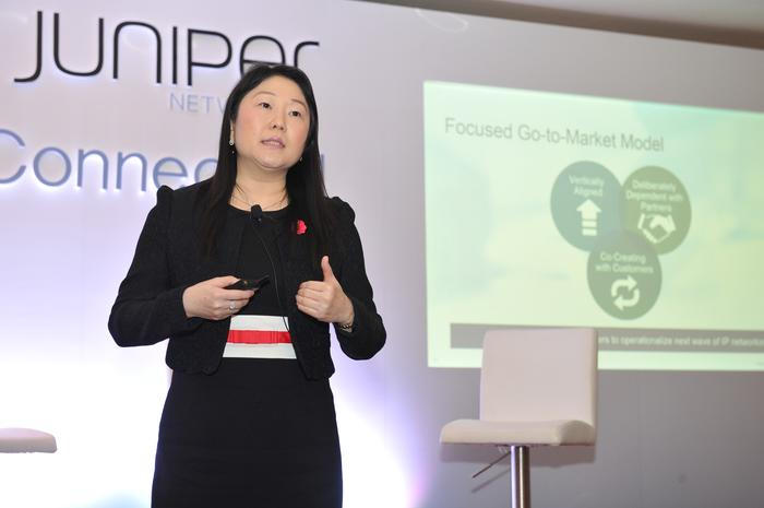 Service providers want to be more like cloud providers, says Juniper Networks senior vice president APAC, Wendy Koh. Credit: Juniper