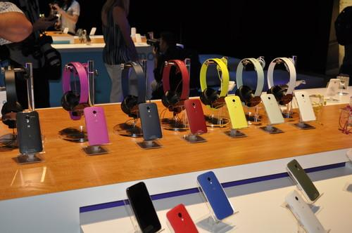 Motorola's Moto X smartphones and Sol Republic Tracks line of headphones
